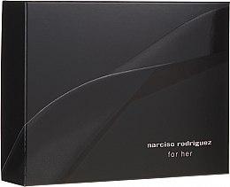 Парфюмерия и Козметика Narciso Rodriguez For Her - Комплект (парф. вода/50ml + душ гел/50ml + лосион за тяло/50ml)