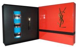 Парфюми, Парфюмерия, козметика Yves Saint Laurent Rive Gauche Pour Femme - Комплект (edt/100ml + masc/2ml)