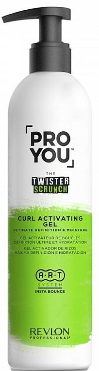 Активатор за къдрици - Revlon Professional Pro You The Twister Scrunch Curl Activator Gel