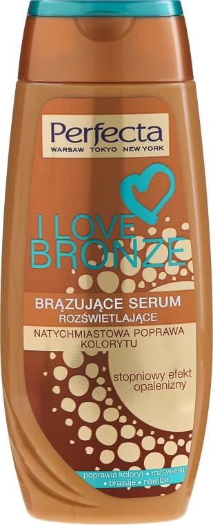 Бронзиращ серум за тяло - Perfecta I Love Bronze Serum
