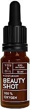 Парфюмерия и Козметика Серум за лице - You & Oil Beauty Shot 100 % Oxygen
