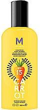Парфюми, Парфюмерия, козметика Слънцезащитен крем за тъмен тен - Mediterraneo Sun Carrot Sunscreen Dark Tanning SPF15