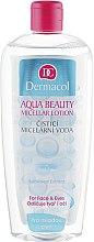 Парфюми, Парфюмерия, козметика Почистваща мицеларна вода за млада кожа - Dermacol Aqua Beauty Micellar Lotion