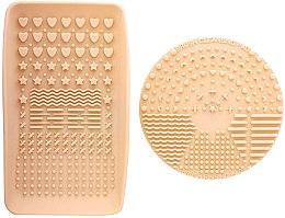 Парфюмерия и Козметика Уред за почистване на четки за грим - Nanshy Makeup Brush Cleaning Pad & Palette