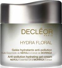 Парфюми, Парфюмерия, козметика Овлажняващ крем-гел за нормална и проблемна кожа - Decleor Hydra Floral Anti-Pollution Hydrating Gel-Cream