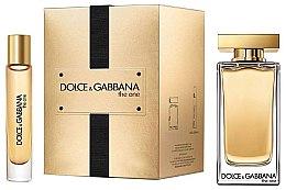 Парфюмерия и Козметика Dolce & Gabbana The One - Комплект (edt/100ml + edt/7.4ml)