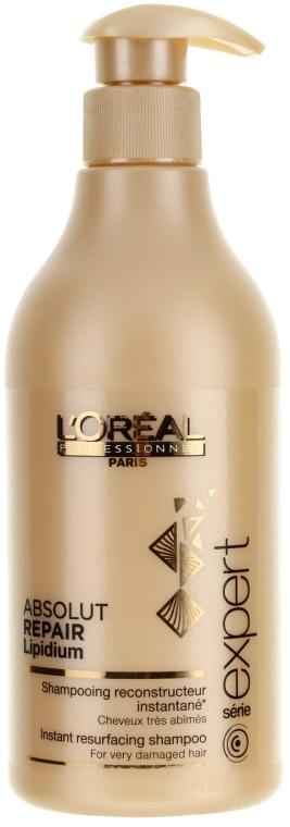 Възстановяващ шампоан за увредена коса - L'Oreal Professionnel Absolut Repair Lipidium Shampooing Reconstructeur Instantane