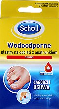 Парфюмерия и Козметика Водоустойчиви лепенки за мазоли - Scholl Waterproof Bandages