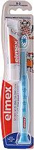 Парфюми, Парфюмерия, козметика Детска четка за зъби (0-3 год.), синя с жираф + паста за зъби - Elmex Learn Toothbrush Soft + Toothpaste 12ml