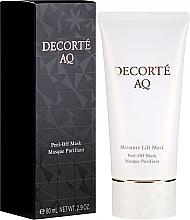 Парфюмерия и Козметика Хидратираща лифтинг маска за лице - Cosme Decorte AQ Moisture Lift Mask