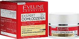 Подмладяващ крем за лице 35+ - Eveline Cosmetics Ekspert Expert Rejuvenation Cream Serum — снимка N1