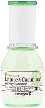"""Парфюмерия и Козметика Успокояваща есенция """"Маруля и краставица"""" - SkinFood Premium Lettuce & Cucumber Watery Essence"""