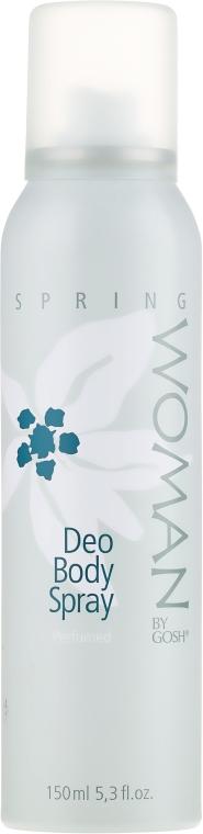 Спрей дезодорант - Gosh Woman Spring Deo Body Spray — снимка N1
