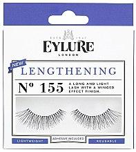 Парфюмерия и Козметика Изкуствени мигли №155 - Eylure Pre-Glued Lengthening