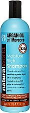 Парфюми, Парфюмерия, козметика Шампоан с арганово масло - Natural World Argan Oil of Morocco Moisture Rich Shampoo