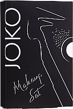 Парфюмерия и Козметика Комплект за грим - Joko Makeup (очна линия/5g + сенки/5g + молив за вежди/5g)