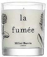 Парфюмерия и Козметика Miller Harris La Fumee - Свещ