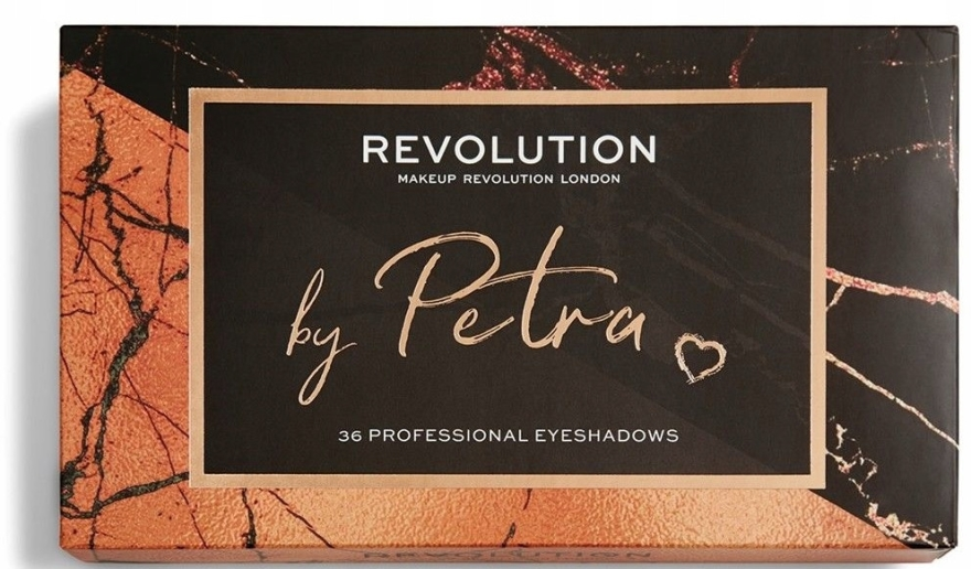 Палитра сенки за очи - Makeup Revolution X Petra 36 Shade Eyeshadow Palette — снимка N4