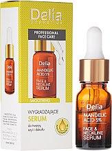 Парфюми, Парфюмерия, козметика Серум за лице, шия и деколте с бадемова киселина - Delia Mandelic Acid 5% Active Face & Neckline Serum