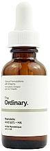 Парфюмерия и Козметика Пилинг за лице с AHA и хиалуронова киселина - The Ordinary Mandelic Acid 10% + HA