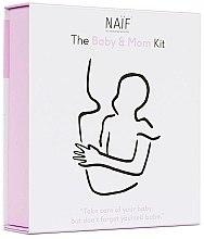 Парфюмерия и Козметика Комплект - Naif Baby & Mom Kit (b/oil/100ml + b/cr/75ml + h/cr/75ml)