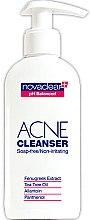Парфюми, Парфюмерия, козметика Измиващ гел за лице - Novaclear Acne Cleanser Soap-free