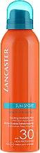 Парфюмерия и Козметика Слънцезащитен спрей - Lancaster Sun Sport Cooling Invisible Mist Wet Skin SPF30
