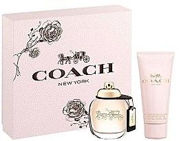 Парфюмерия и Козметика Coach New York Eau De Parfum - Комплект (edp/50ml + b/lot/100ml)