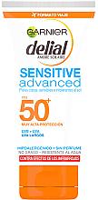 Парфюми, Парфюмерия, козметика Ултра нежен слънцезащитен крем за лице SPF50 - Garnier Ambre Solaire Sensitive Sun Cream SPF50+