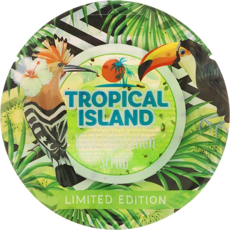 "Скраб за лице ""Киви"" - Marion Tropical Island Kiwi Exfoliation Scrub"