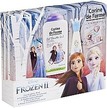 Парфюмерия и Козметика Corine De Farme Disney Frozen 2 - Комплект (тоал. вода/30ml+душ гел/250ml+аксесоар)