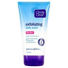 Парфюми, Парфюмерия, козметика Ексфолиращ гел за лице за ежедневна употреба - Clean & Clear Exfoliating Daily Wash