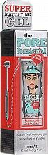Парфюмерия и Козметика Прозрачен матиращ гел за лице - Benefit The Porefessional Matte Rescue (мини)