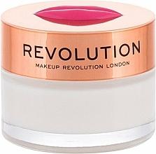 """Парфюмерия и Козметика Балсам-маска за устни """"Кокос"""" - Makeup Revolution Kiss Lip Balm Cravin Coconuts"""