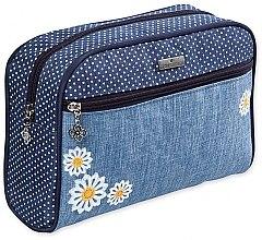 """Парфюми, Парфюмерия, козметика Козметична чанта """"Camomiles"""", 98239, с цветя - Top Choice"""