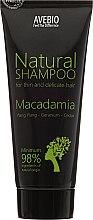 "Парфюмерия и Козметика Шампоан за коса ""Макадамия"" - Avebio Natural Shampoo For Thin And Delicate Hair"