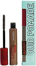 Парфюмерия и Козметика Помада за вежди - Ingrid Cosmetics Liquid Pomade