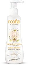 Парфюмерия и Козметика Детски лосион за тяло - Roofa Honey Body Lotion