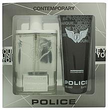 Парфюми, Парфюмерия, козметика Police Contemporary - Комплект (тоал. вода/100ml + душ гел/100ml)