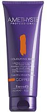 Парфюмерия и Козметика Тонираща маска за коса за медени оттенъци - FarmaVita Amethyste Colouring Mask Copper