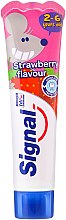 Парфюми, Парфюмерия, козметика Детска паста за зъби с аромат на ягоди - Signal Kids Toothpaste