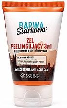 Парфюми, Парфюмерия, козметика Антибактериален гел скраб за лице 3в1 със сяра - Barwa Anti-Acne Sulfuric Gel Scrub