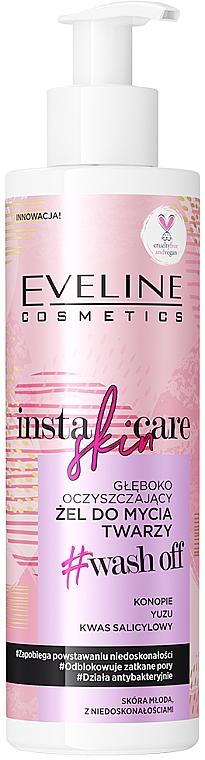Дълбоко почистващ измиващ гел - Eveline Cosmetics Insta Skin Care #Wash Off