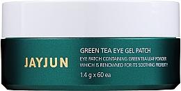 Парфюмерия и Козметика Хидрогел пачове за очи с екстракт от зелен чай - Jayjun Green Tea Eye Gel Patch