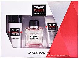 Парфюми, Парфюмерия, козметика Antonio Banderas Power Of Seduction - Комплект (edt/100ml + deo/150ml + ash/balm/75ml)