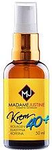 Парфюми, Парфюмерия, козметика Хидратиращ крем за лице с хиалуронова киселина - Madame Justine Moisturizing Cream With Hyaluronic Acid 40+