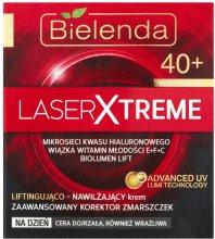 Парфюми, Парфюмерия, козметика Дневен хидратиращ крем за повдигане - Bielenda Laser Xtreme 40+