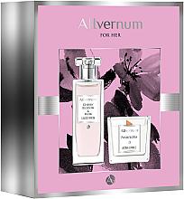 Парфюмерия и Козметика Allvernum Cherry Blossom & Musk - Комплект (парф.вода/50ml + свещ/100g)
