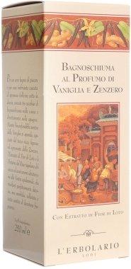 """Пена для ванны-гель для душа """"Ваниль и имбирь"""" - L'erbolario Vaniglia & Zenzero Bagnoschiuma (мини) — снимка N2"""