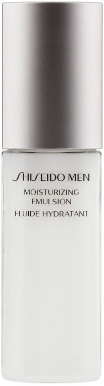 Овлажняваща емулсия за лице - Shiseido Men Moisturizing Emulsion  — снимка N1